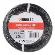 CABLE ELEC.AUDIO 2X0,75 10M...