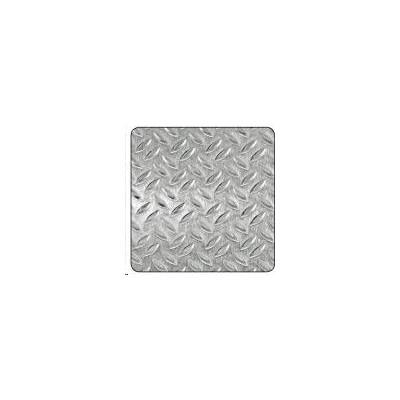 Chapa alumin grano arroz bruto 500x500mm