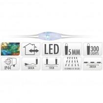 ALAMBRE COLOR PLATA 300 LED...