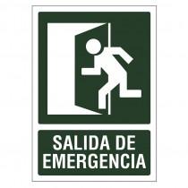 SEÑAL 210X297 PVC SALIDA...