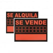 SEÑAL PVC SE VENDE/SE...