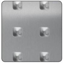 Chapa aluminio motivo...