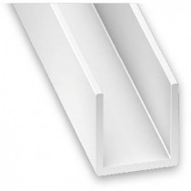 U PVC blanco 10x12x10x1...