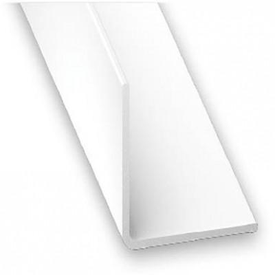 Angulo PVC blanco 20x20 1m.