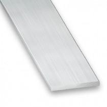 Liso aluminio bruto 25x2 2m.
