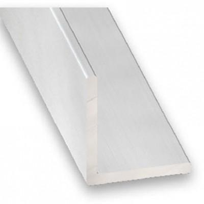 Angulo aluminio anodizado incoloro 10x10x1 1m.