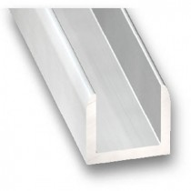 U aluminio anodizado...