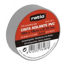 CINTA AISLANTE 19X20M GRIS...