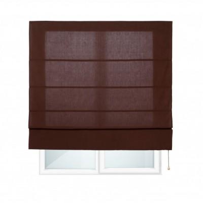 CITY - Estor Plegable con varillas Chocolate 150X175
